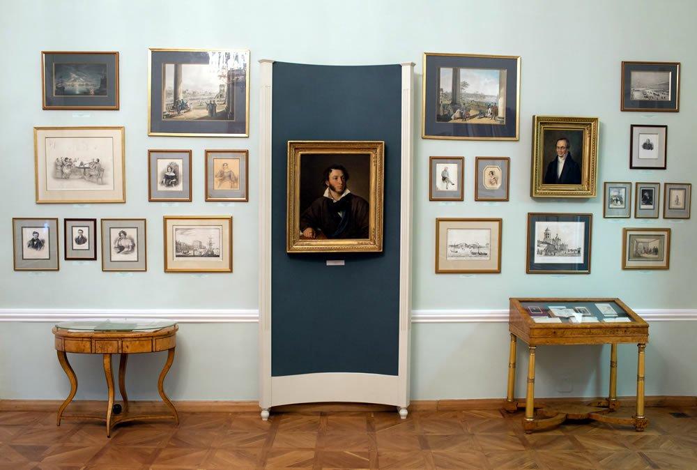 Экспозиция «Жизнь итворчество А. С. Пушкина»