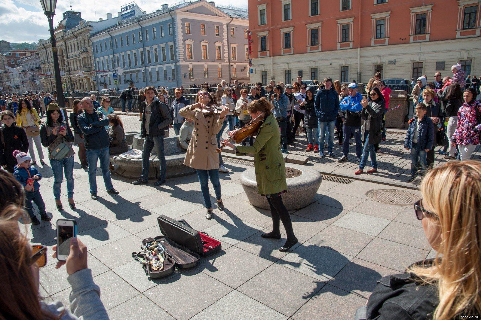 День уличной музыки вСанкт-Петербурге 2016