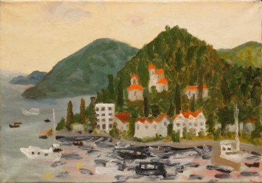 Выставка «Нарисовано вЧерногории»