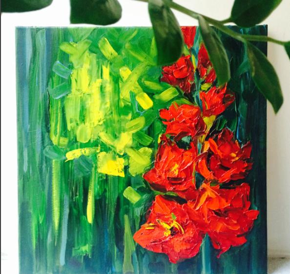 Выставка «В ярком цвете»