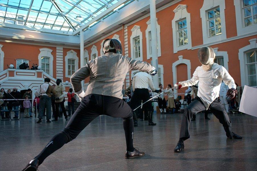 Дни фехтовальной культуры вСанкт-Петербурге 2017