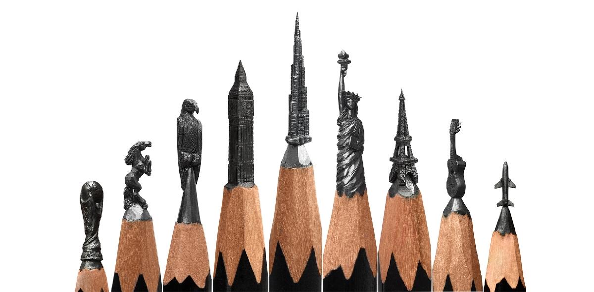 Выставка микроскульптур Салавата Фидаи «На кончике карандаша»
