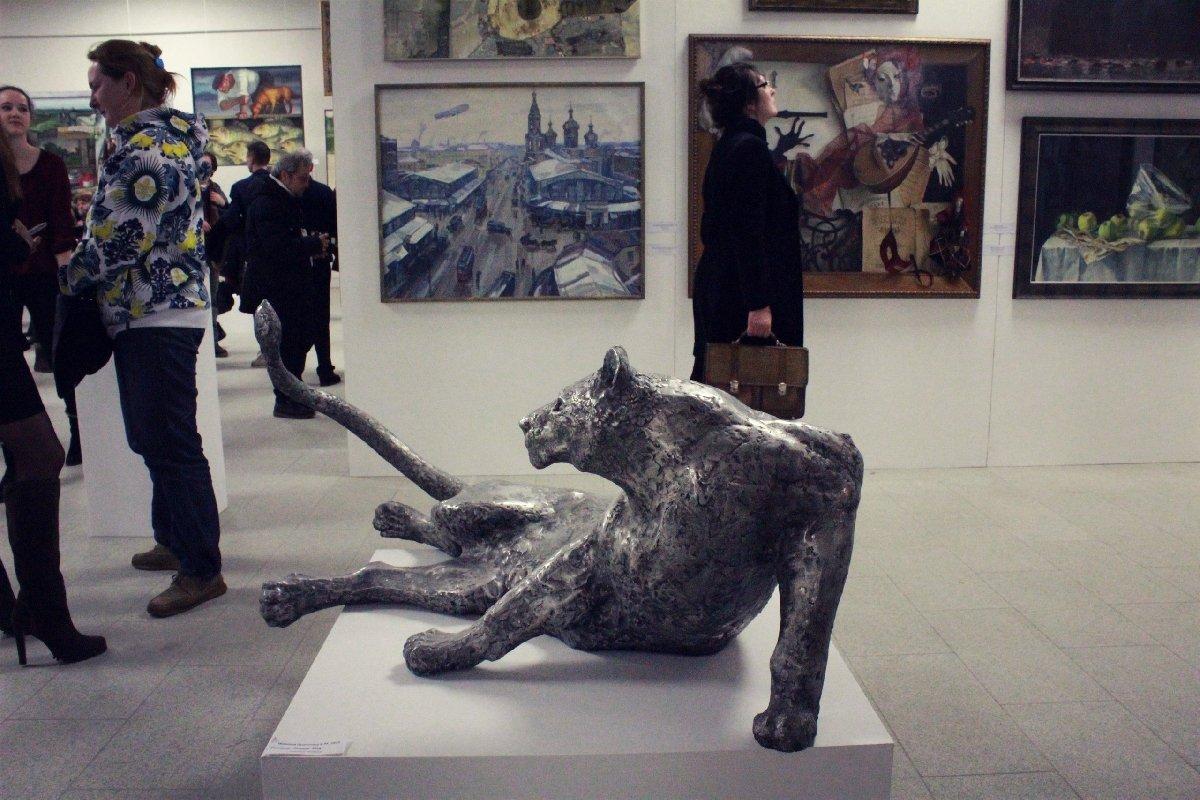 Выставка «85 лет Санкт-Петербургскому Союзу художников»