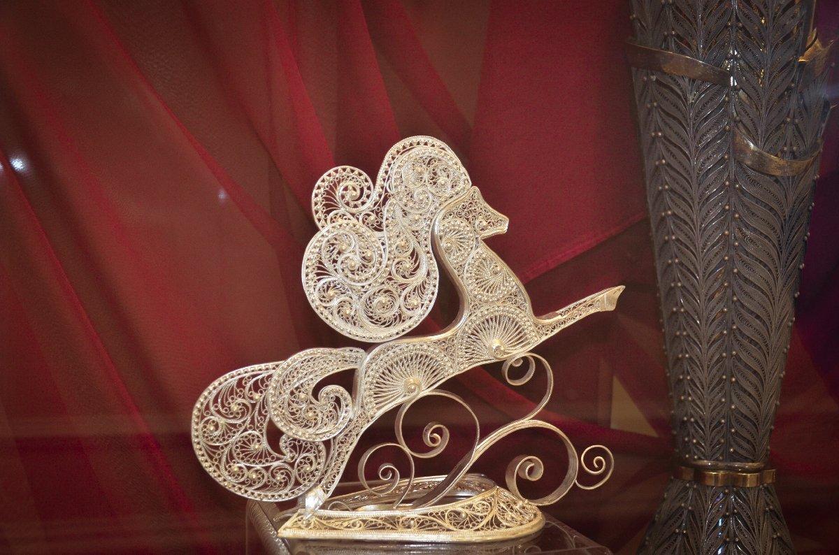 Выставка «Костромское серебро»