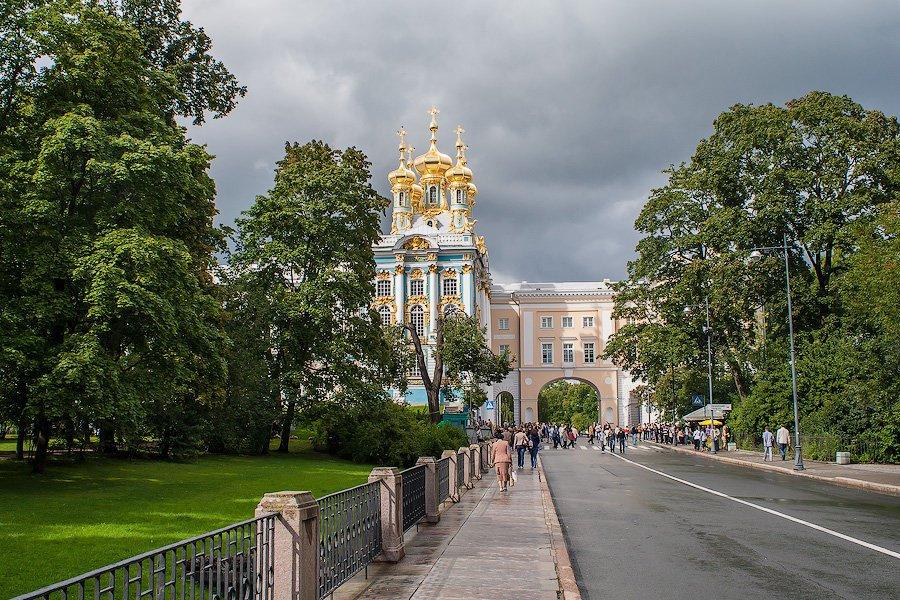 Город пушкин картинки
