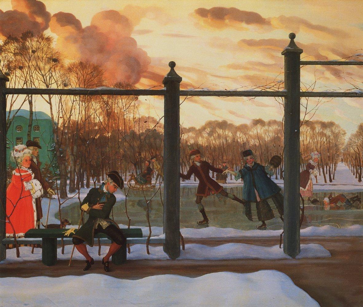 Выставка «Константин Сомов. К150-летию содня рождения»
