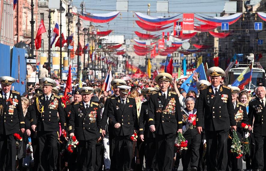 Праздник Победы вСанкт-Петербурге 2018