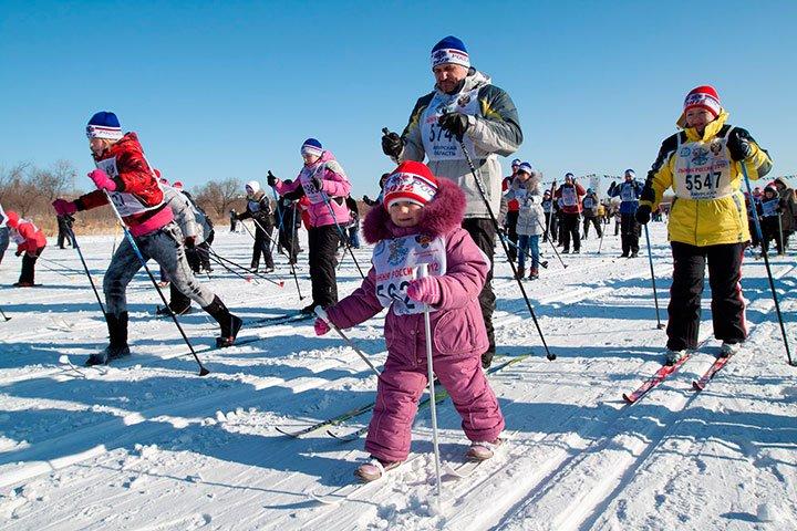 Всероссийская массовая лыжная гонка «Лыжня России– 2017»