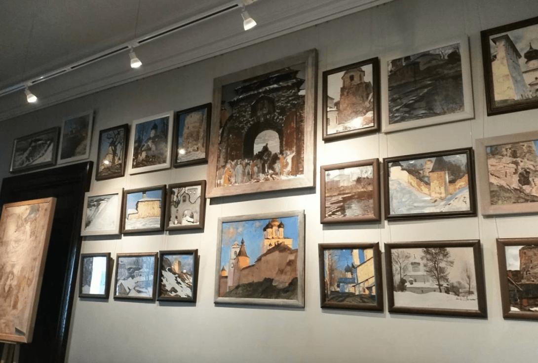 Выставка «Путями Н. К. Рериха. Псковское ожерелье»