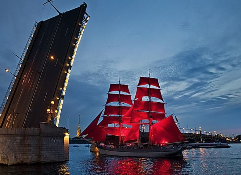 Ночной круиз «Алые паруса-2021»