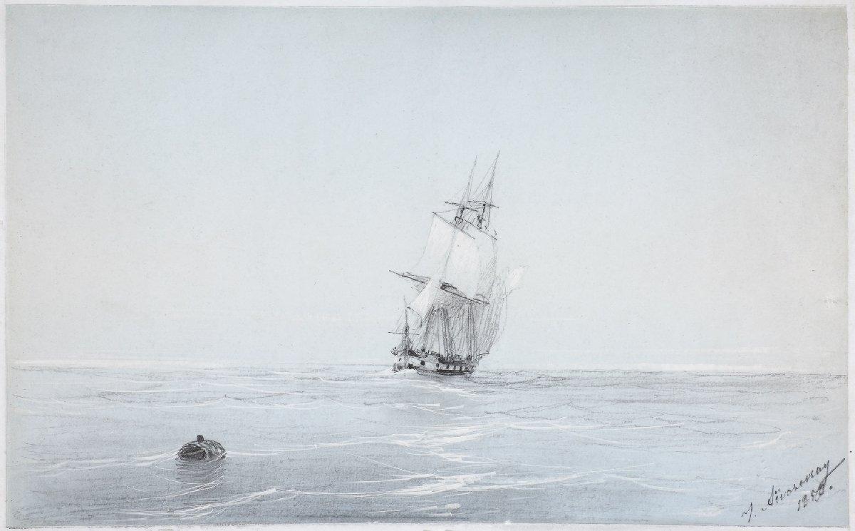 Выставка картин Ивана Айвазовского вКронштадте
