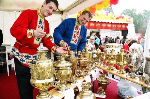 Фестиваль чая икофе наМосковской площади 2016