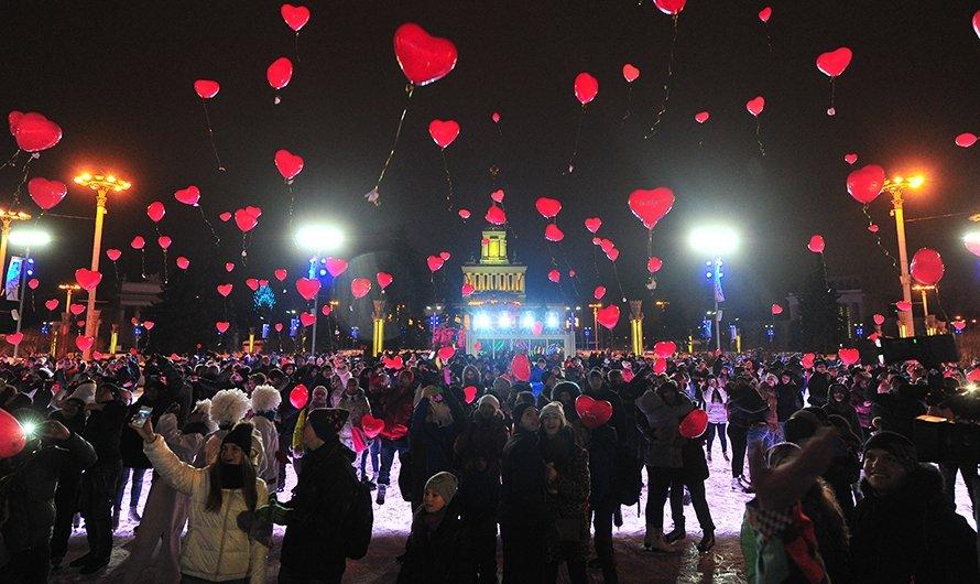 День Святого Валентина впарке Сказок 2018