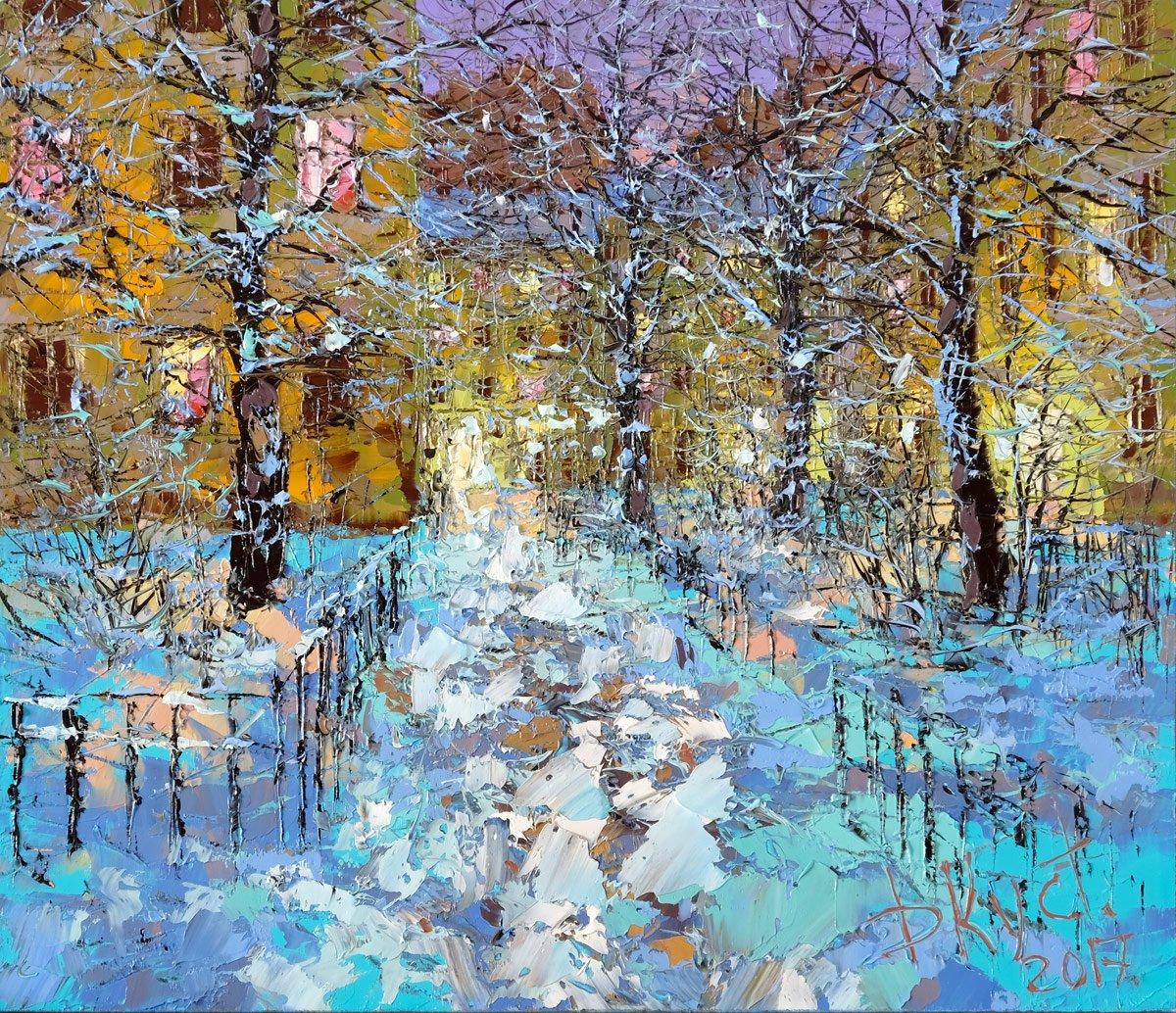 Рождественская выставка живописи вГалерее Кустановича