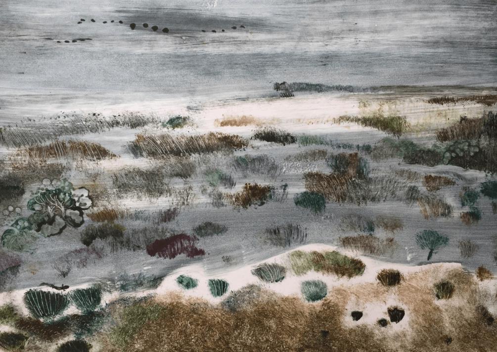 Выставка «Линии ипятна. Печатная итрадиционная графика»