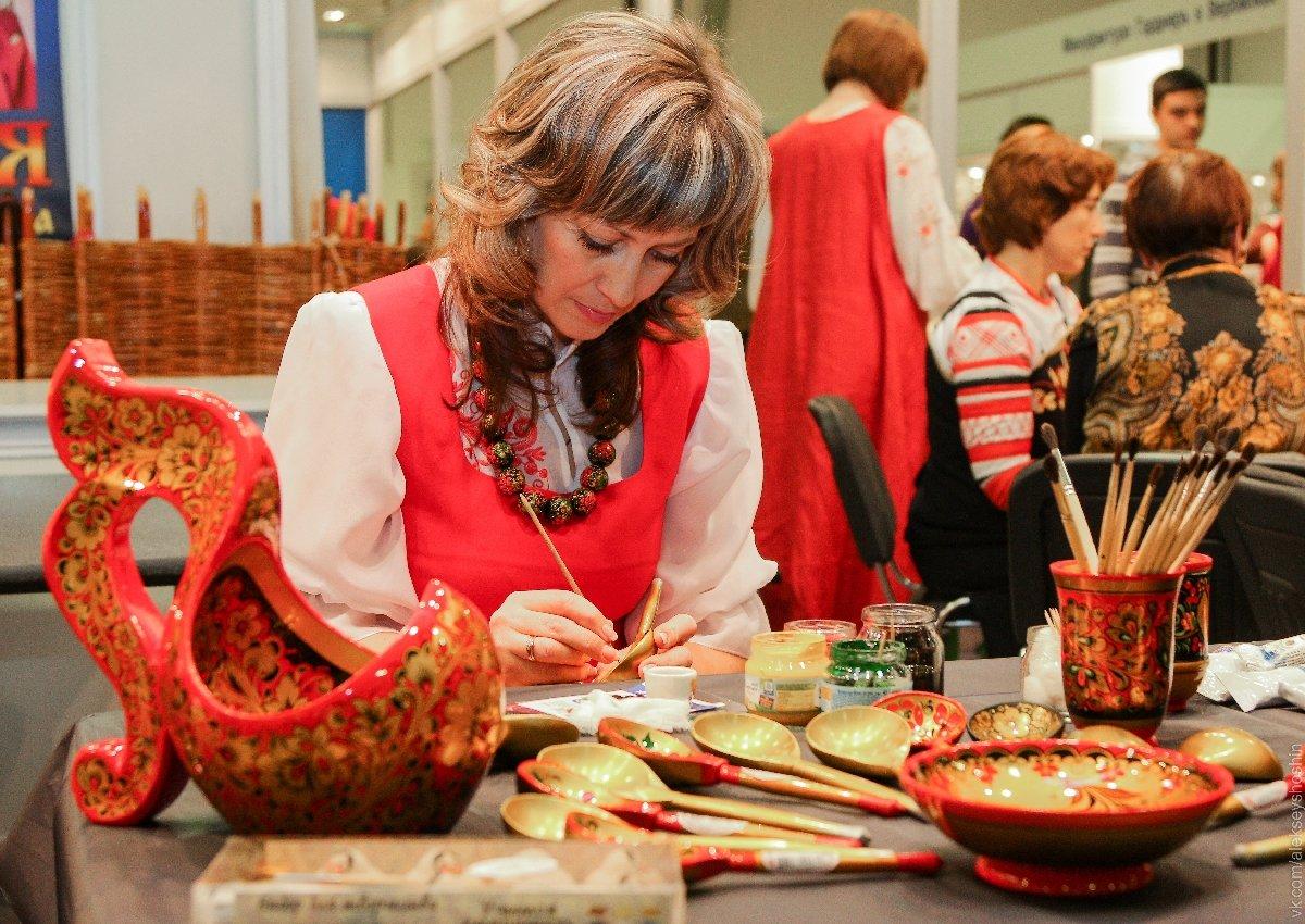 Выставка народных художественных промыслов иремесел 2020