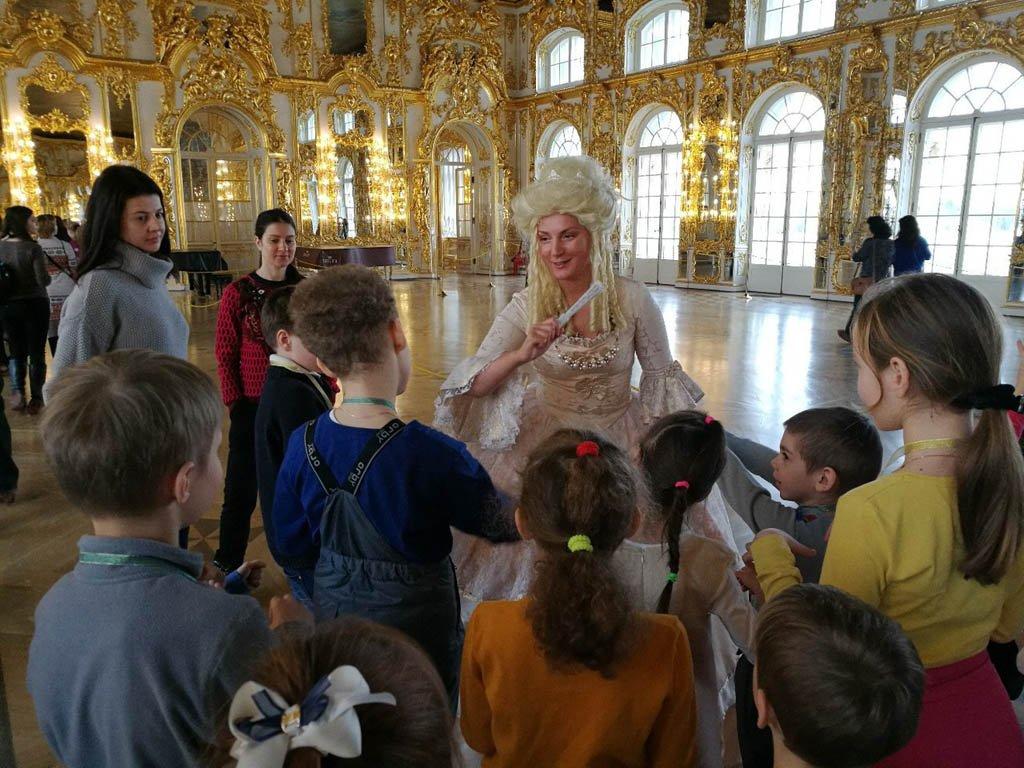 Детская программа «Семейный воскресник вЦарском Селе»