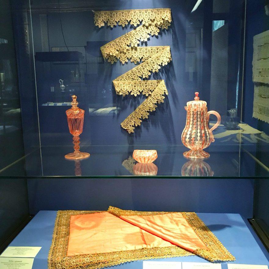 Выставка «Фантазии внитях. Кружево истекло Западной Европы XVI-XIX веков»