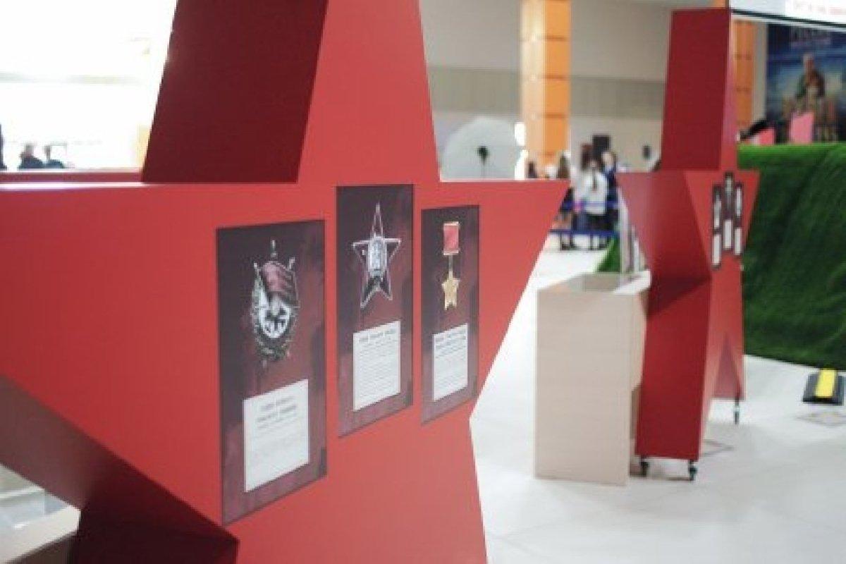 Выставочный проект «Расскажи мне овойне. Битва заЛенинград»