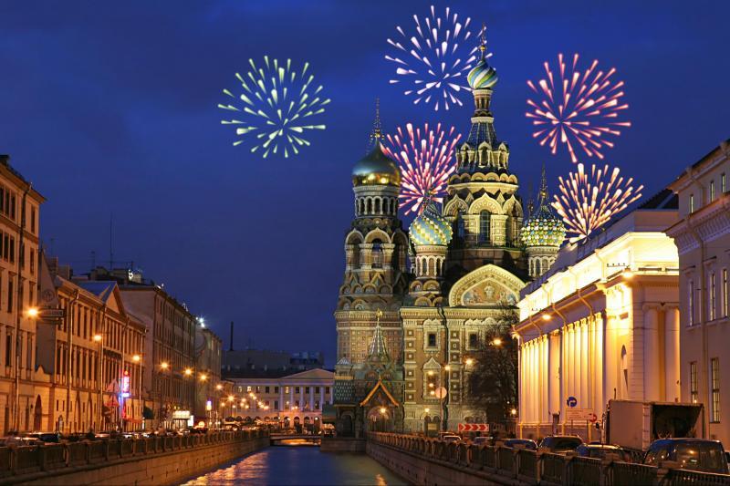 Новый год вСанкт-Петербурге 2017