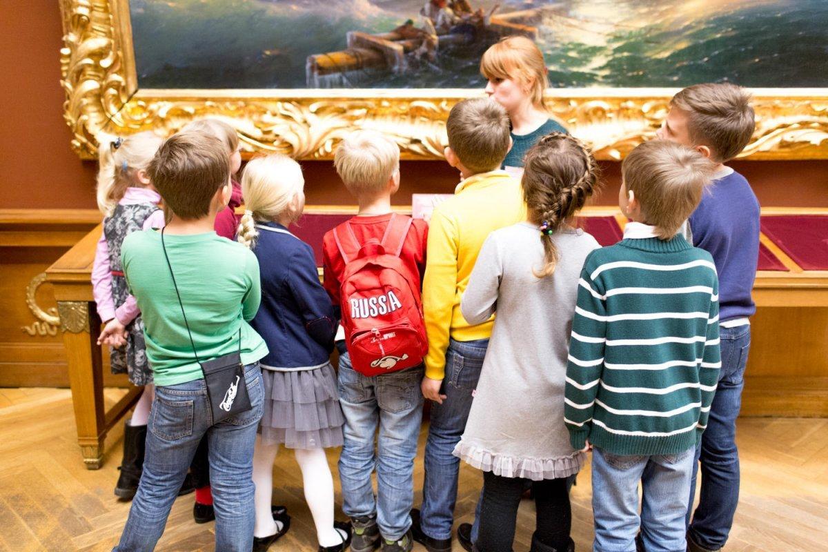 Онлайн-фестиваль Русского музея «Музеи-детям 2020»