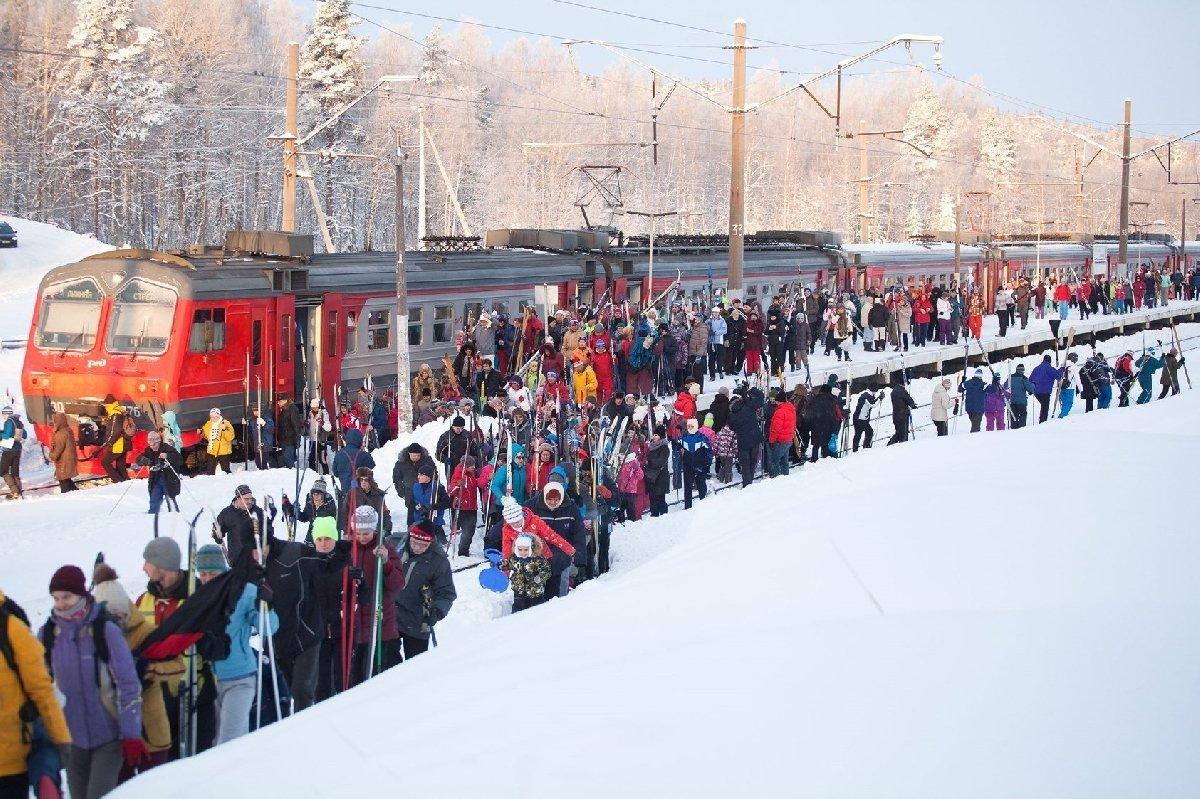 Массовые лыжные старты «Лыжные стрелы» 2018