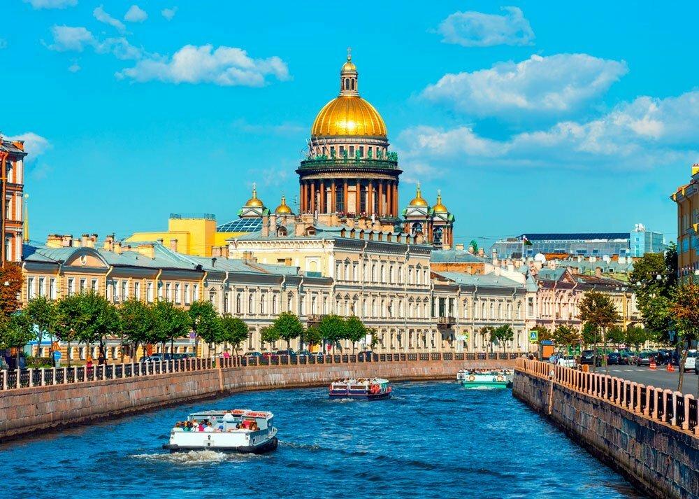 Обзорная экскурсия поСанкт-Петербургу 2020