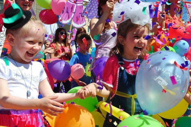 Детский праздник «Город мастеров» 2017
