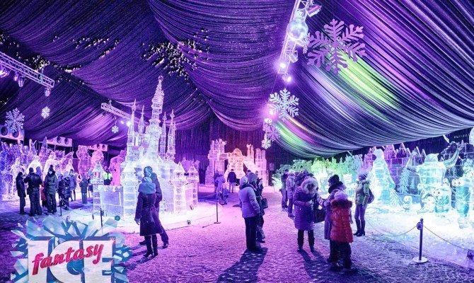 Фестиваль ледовых скульптур «ICE fantasy» 2017