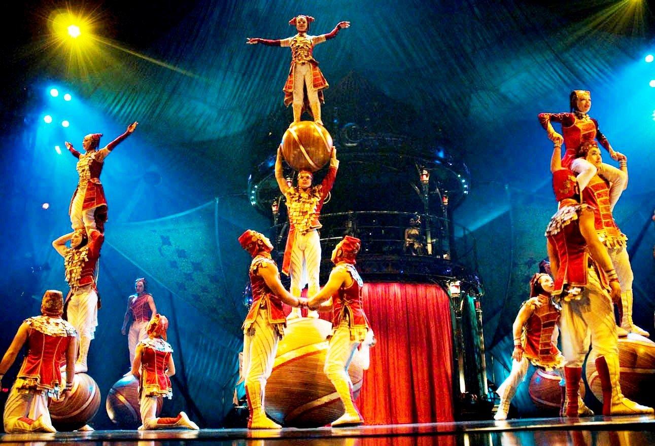 Цирк «Cirque DuSoleil» 2016