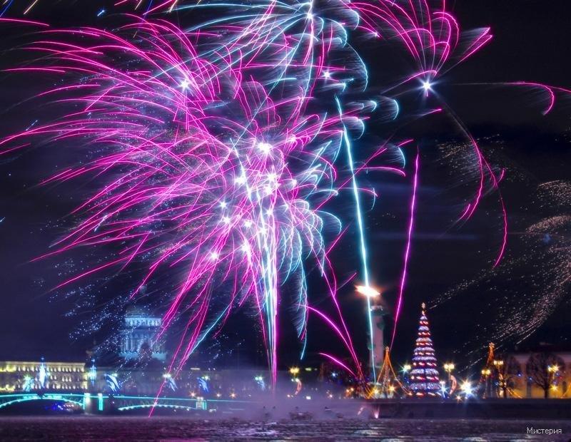 Новогодние праздники вСанкт-Петербурге 2018