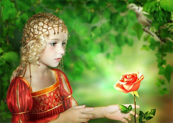 Детский спектакль «Аленький цветочек» втеатре имени Акимова