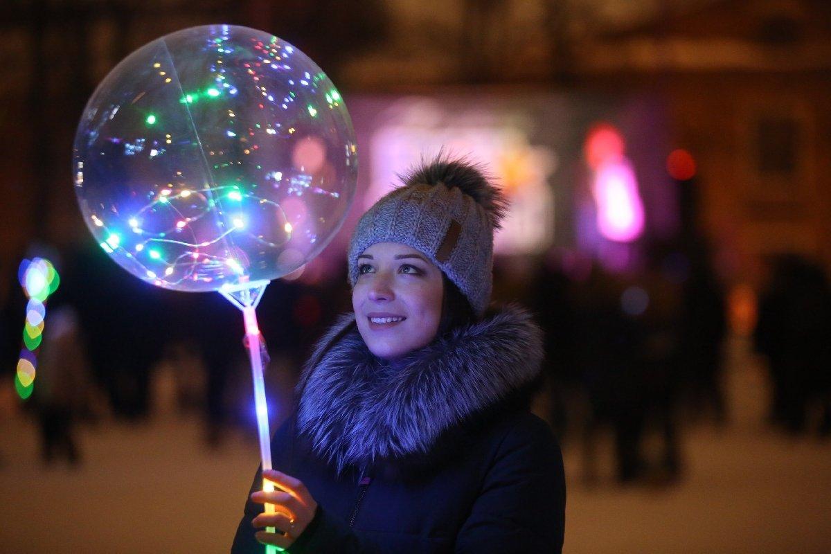 Фестиваль волшебных шаров впарке Сказок