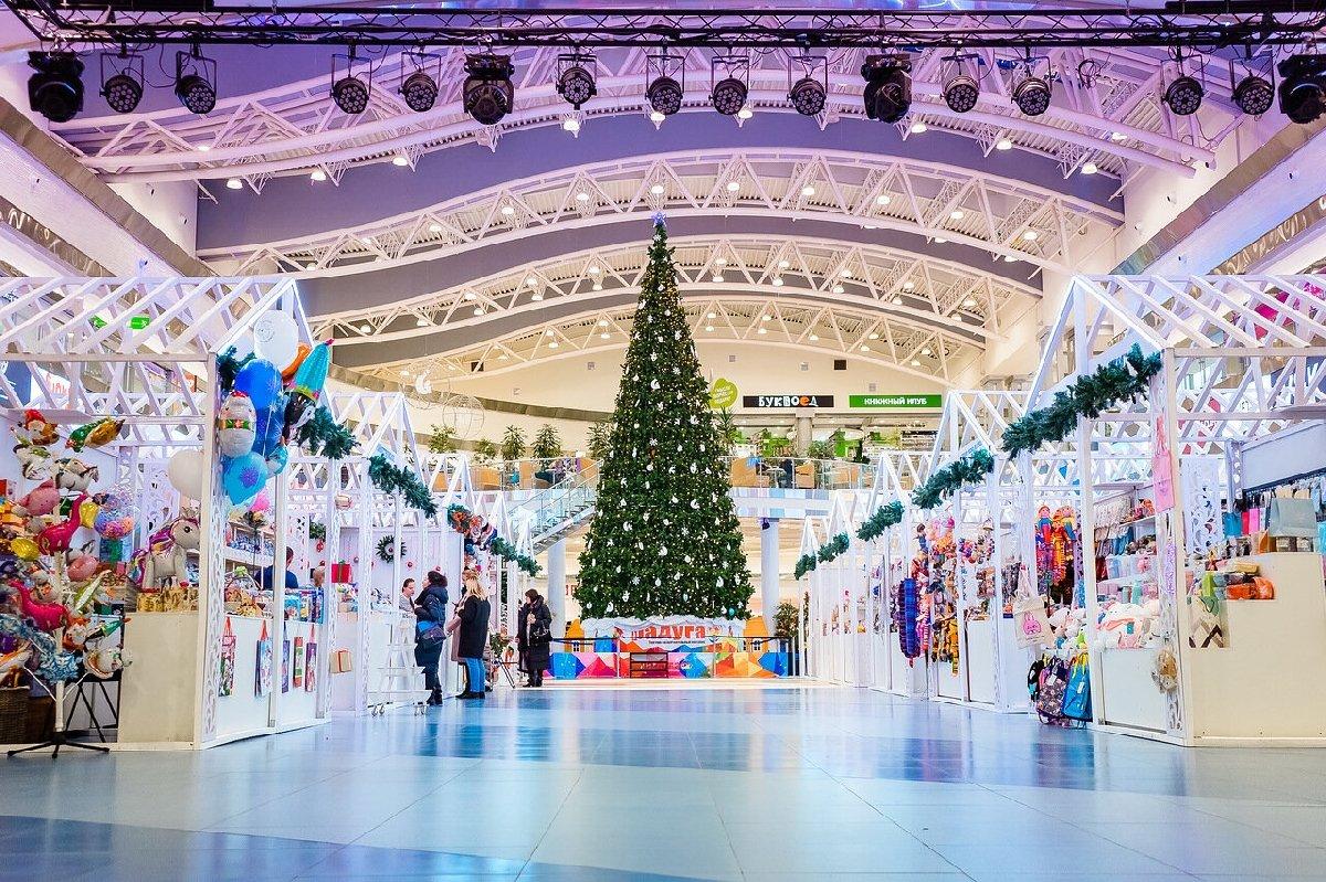 Новогодняя ярмарка вТРК «Питер Радуга»