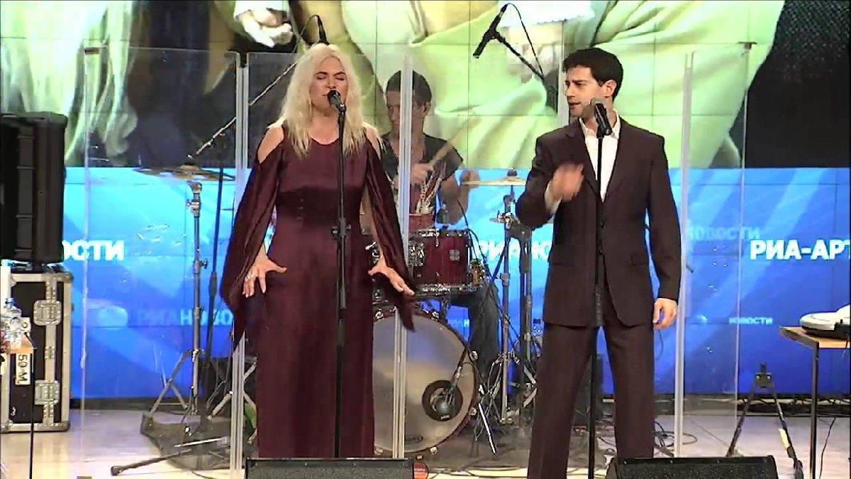 Живой концерт Макарских вСанкт-Петербурге