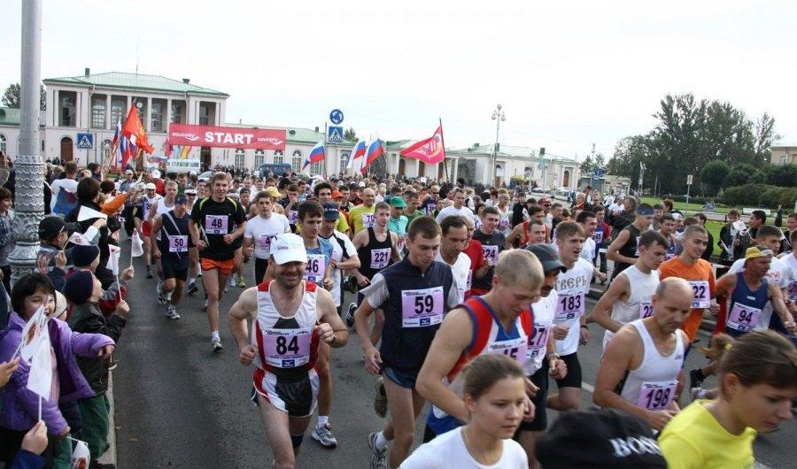 Легкоатлетический пробег «Пушкин— Санкт-Петербург» 2016