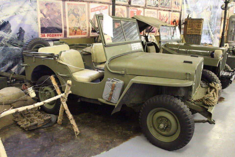 Музей ретро техники илюбителей военной истории