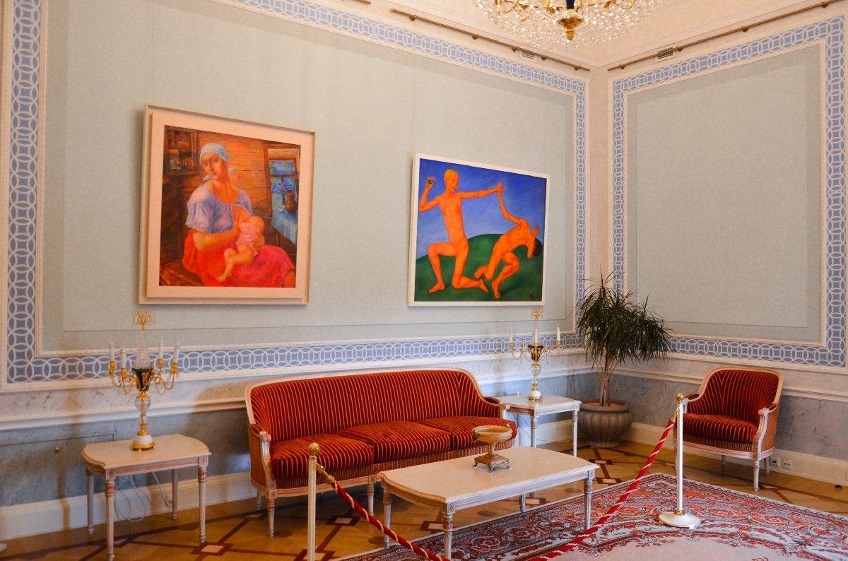 Выставка работ К. С. Петрова-Водкина