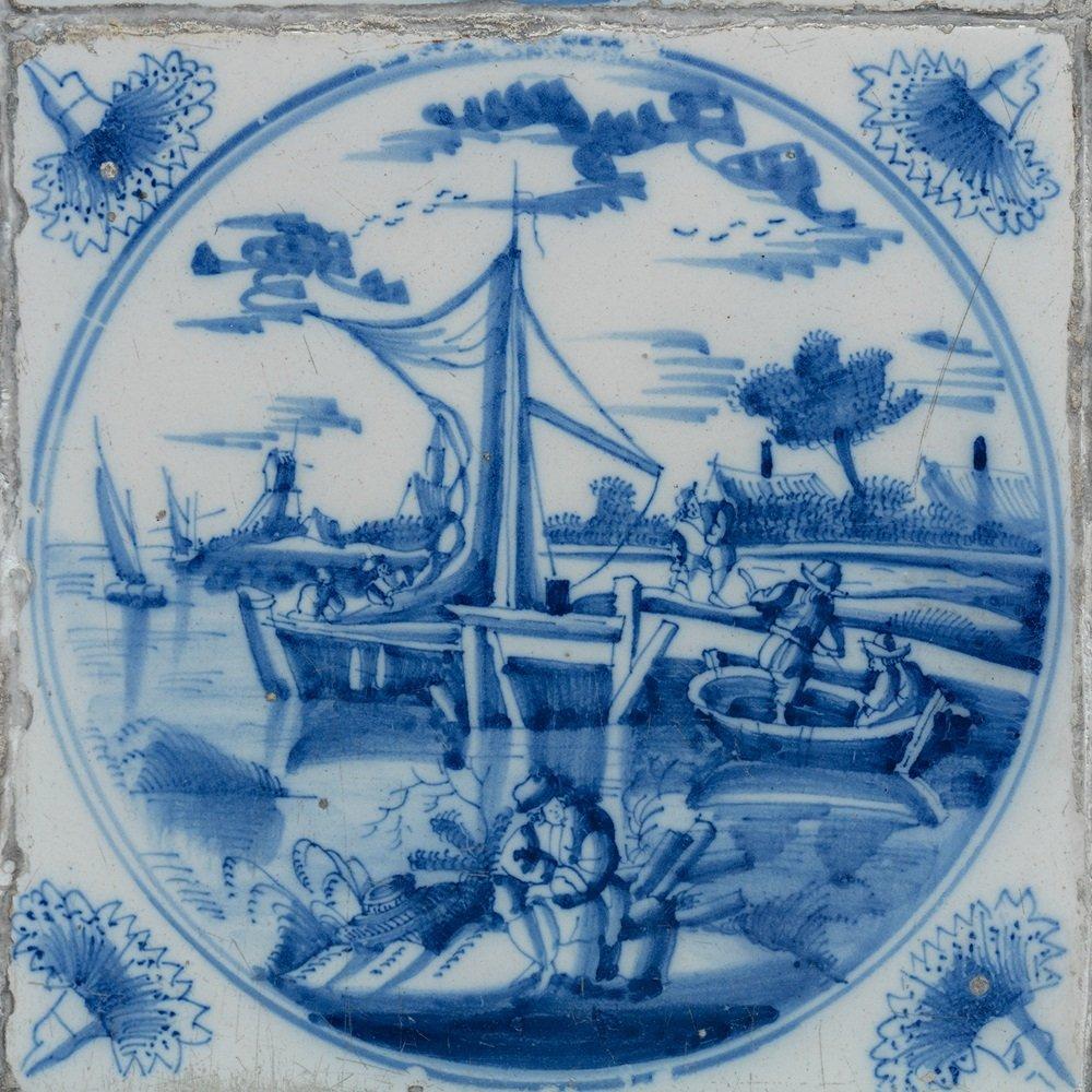Выставка «Приключения голландской плитки XVIII века изсобрания Эрмитажа»
