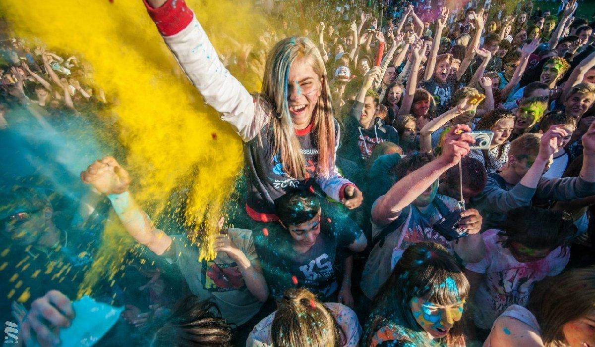 Всероссийский фестиваль красок 2018