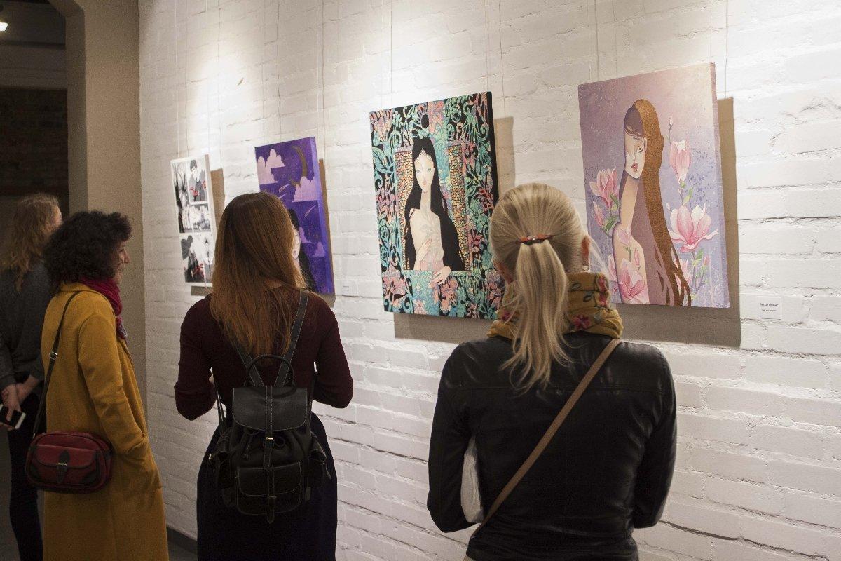 Выставка «Бесконечные точки»