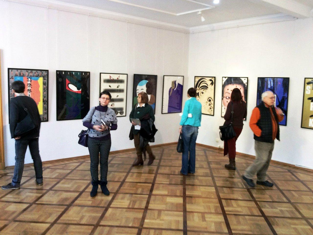 Выставка «Интерпретация Сяраку»