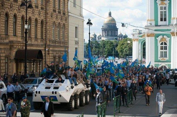 День Воздушно-десантных войск вСанкт-Петербурге 2017