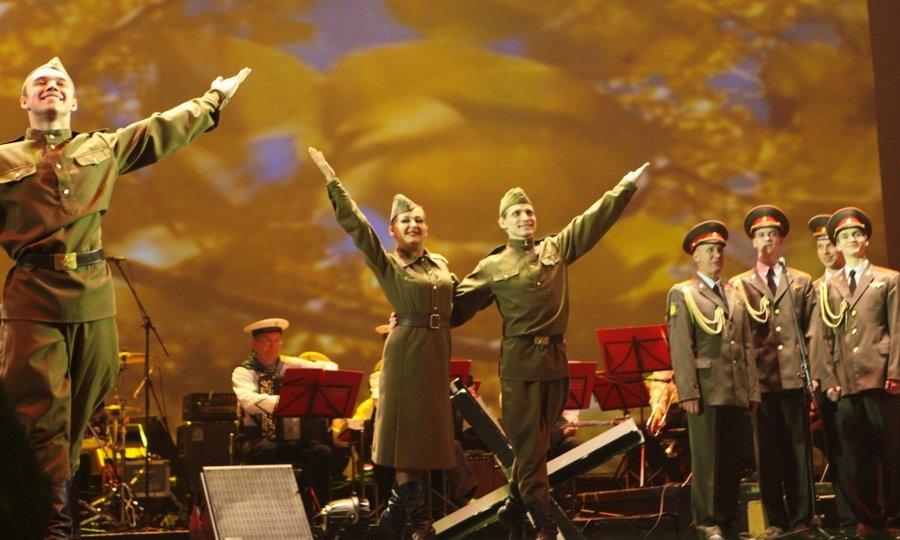 Праздничные концертные программы, посвященные 75-летию Победы вВеликой Отечественной войне
