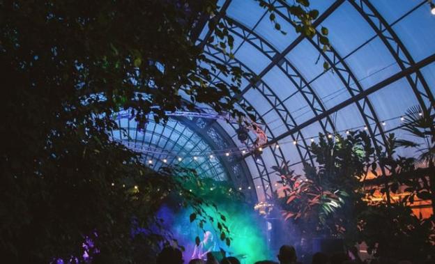 Воранжерее «Концерт для Цветов»