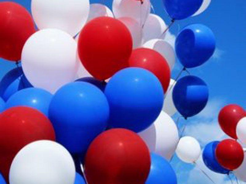 День россии картинка с шарами