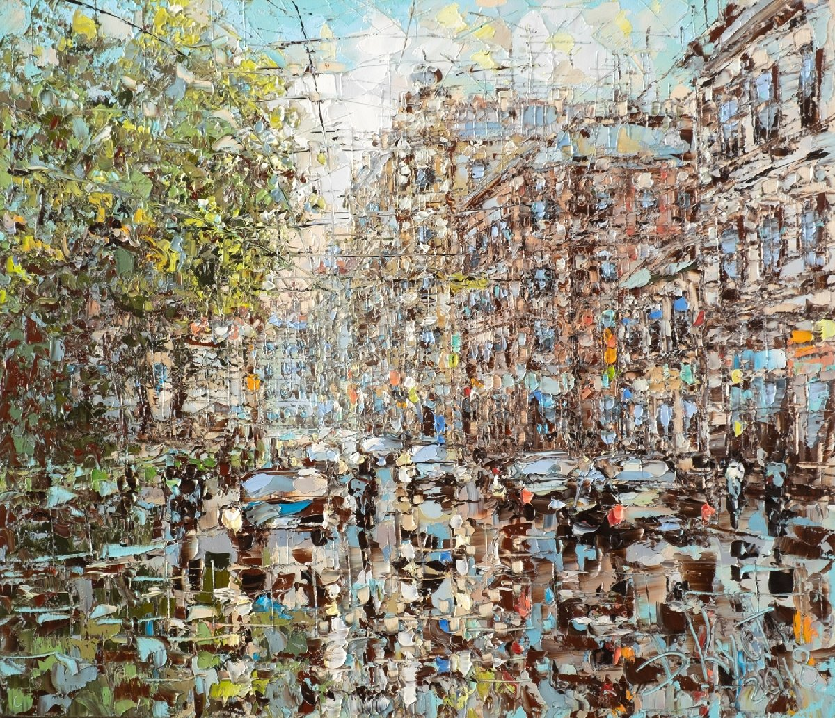 Выставка «Мгновения» вГалерее Дмитрия Кустановича