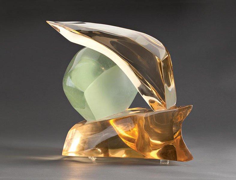 Выставка «Скульптура. Оптическое стекло»