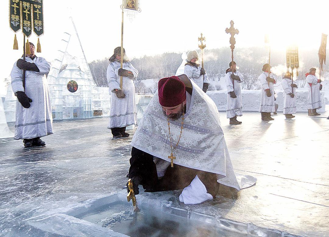 Праздник Крещения Господня вСанкт-Петербурге 2020