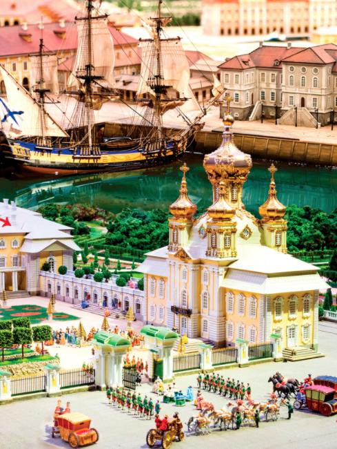 Музей-Макет Петербурга ипригородов 18 века